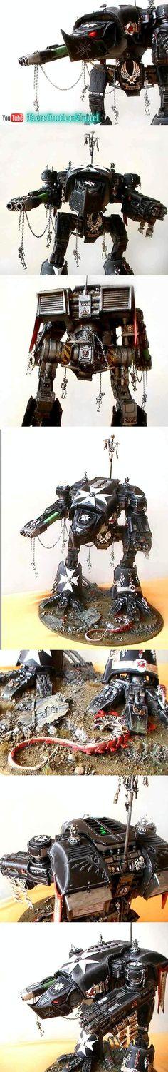 40.000, Black Templars, Mars Pattern, Space Marines, Spacemarine, Titan, Warhammer 40,000, Warhound, Warlord