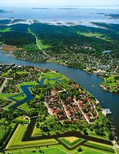 the old town, Fredrikstad, Norway