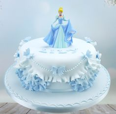 This Week – Princess Cake With Frills Bolo Barbie, Barbie Cake, Cake Craft Shop, Disney Cakes, Disney Princess Cakes, Girl Cakes, Celebration Cakes, Themed Cakes, Cake Art