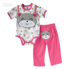 Kitty Newborn Girl Clothes - http://www.ikuzobaby.com/kitty-newborn-girl-clothes/