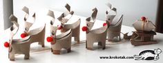 TP Roll Reindeer Holiday Crafts For Kids, Easy Crafts For Kids, Christmas Crafts For Kids, Christmas Activities, Cardboard Tube Crafts, Toilet Paper Roll Crafts, Christmas Makes, Christmas Deer, Christmas Toilet Paper