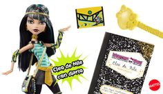 Muñeca Cleo de Nile con Diario Monstruoso