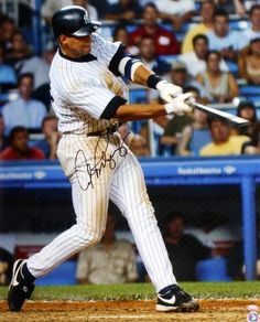 Alex Rodriguez Autographed 16x20 Photo - MLB Holo & JSA/SM - - JSA Certified - Autographed MLB Photos by Sports Memorabilia. $189.99. Alex Rodriguez Autographed 16x20 Photo - MLB Holo & JSA/SM. An all-around baseball player, New York Yankees third baseman Alex Rodriguez has set numerous records over the years. Perfect signature quality. All pieces sold by Sportsmemorabilia come with a money-back authenticity guarantee. items like this have become scarce, meaning that...