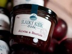 Košice, debničkový predaj, džem slivka škorica, Sladký košík