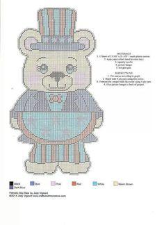 Patriotic Boy Bear Pg 2/2