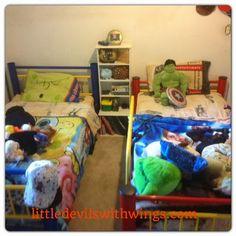 A Boys' Bedroom Make-Over Update #1