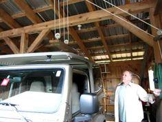 DIY Jeep hardtop hoist