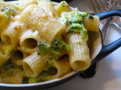 Pasta with Broccoli and Cheese | not the healthiest but it sure looks delicious!