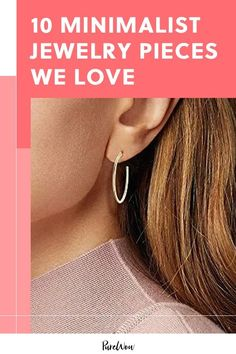 10 Minimalist Jewelry Pieces We Love (P. They Also Make Great Gifts) - 10 Minimalist Jewelry Pieces We Love (P. They Also Make Great Gifts) - 90s Jewelry, Dainty Jewelry, Fashion Jewelry, Jewelry Tools, Wire Jewelry, Diamond Jewelry, Beaded Jewelry, Jewelry Box, Fashion Tips For Girls