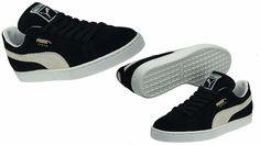 Puma Men s Suede Classic Eco Black-White 352634-03  PUMA  35263403 Black 916eb5c6a
