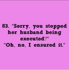 """I do wonder about Mrs. Hudson's husband..."" Me to."