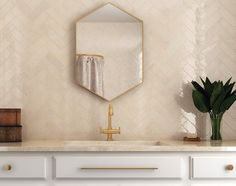 """Saratoga features a 2.5""""x8"""" zellige-inspired subway tile in six glossy, soft colors that add color and brightness to any interior space. Bathroom Design Inspiration, Subway Tile, Soft Colors, Wall Tiles, Ceramics, Interior, Inspired, Space, Soothing Colors"""