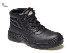 Dickies , Chaussures de sécurité pour homme Noir noir 11 UK - Chaussures dickies (*Partner-Link)
