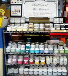 two-coat chalk paint. NEED.