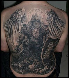 de Anjos Angels Tattoos Tattoos my Tatuagens de Anjos Angels Tattoos Tattoos myTatuagens de Anjos Angels Tattoos Tattoos my Angel Warrior Tattoo, Angel Of Death Tattoo, Angel Back Tattoo, Guardian Angel Tattoo, Warrior Tattoos, Angel Tattoo Men, Scorpio Tattoos, Back Tattoos For Guys, Full Back Tattoos