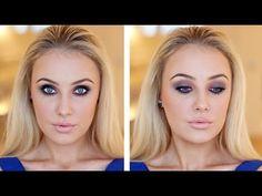 ▶ Smokey Eye Look For BROWN & GREEN EYES! - YouTube