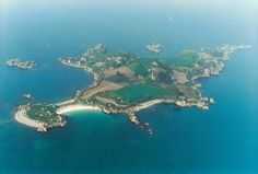 St. Rion Isand - Photo from helicopter