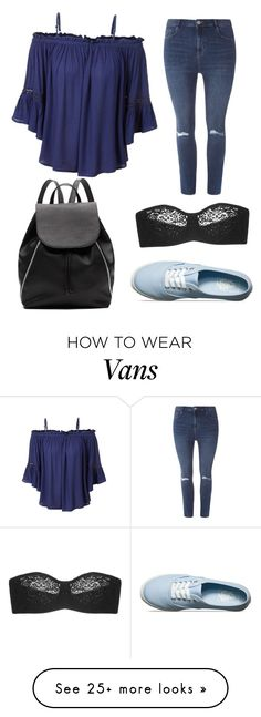 """""""Untitled #47"""" by bunnygirl21 on Polyvore featuring LE3NO, Dorothy Perkins, Vans, Wacoal and Witchery"""