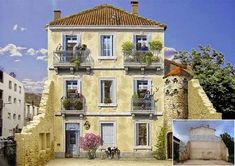 """""""Live"""" facades by Patrick Commecy"""