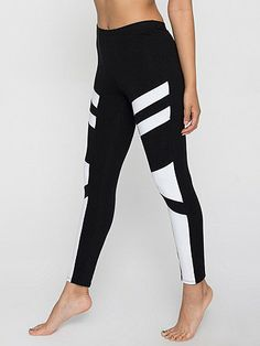 Cotton Spandex Design Legging from American Apparel