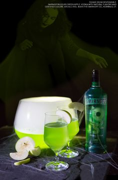This Halloween gather with all your bad witches for a delicious easy drink. The Wicked to the Core cocktail is perfect for spooky parties or staying in to pass out trick or treats.