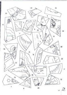 Játékos tanulás és kreativitás: Színezős adventi naptár Advent Activities, Sunday School Activities, Sunday School Crafts, Christmas Activities, Christmas Crafts For Kids, Christmas Printables, Christmas Diy, Idees Cate, 1 Advent