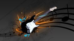 HD Guitar Wallpaper