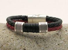Men's Bracelet  - Men's Jevelry Bracelet - Men's Leather Bracelet - Men's Jewelry - Bracelets For Men - Gift for Him