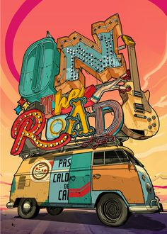 ON THE ROAD by Davi Augusto @ Behance
