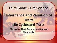 4$  This product contains 50 slides that cover the basic inheritance and trait variation for elementary school students. The slides are aligned to Next Generation Science Standards.