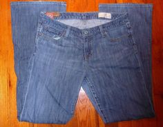 $14.99 OBO Gap 1969 Boot Cut Stretch Jeans Women's Sz 10R Excellent Condition #GAP #BootCut