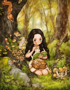The story of a Jungle girl