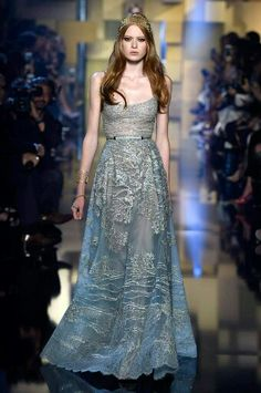 Beautiful Dress from the Elie Saab Haute Couture Fall 2015 Collection
