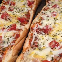 French Bread Pizza - a simple throw-it-together meal for busy weeknights.  Serve with salad!
