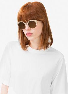 Pin for Later: Kennt ihr schon Zara's kleine Schwester-Marke namens Uterqüe?  Runde Sonnenbrille (99 €)