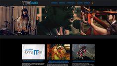 Sitio web para productora audiovisual TUTSTUDIO - http://tutstudio.com/