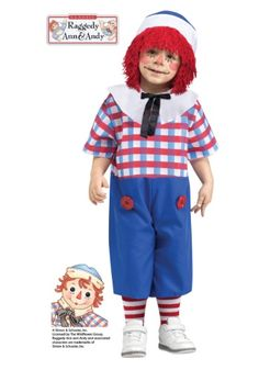 Raggedy Andy is always a hit for parties and parades throughout the year.