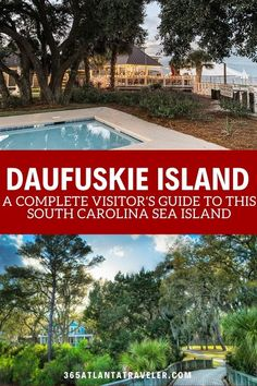 Daufuskie Island is one of the South Carolina Sea Islands, just a mile across the Sound from Hilton Head Island. It's one of the most unique and underdeveloped islands on the east coast with great food, alluring artists, and a rich history. Enjoy our complete guide to the island, including tips on how to get there, how to navigate it, things to do, local restaurants to eat at, and hotels, rentals and where to stay. Myrtle Beach Boardwalk, Myrtle Beach Vacation, South Carolina Vacation, Myrtle Beach South Carolina, Beach Aesthetic, Hilton Head Island, Vacation Places, Travel Usa, Travel Tips