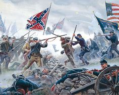Mort Kunstler Civil War Puzzles by White Mountain Puzzles - The High Tide - 1000 Piece Jigsaw Puzzle