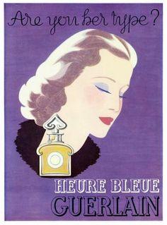 GUERLAIN -- L'Heure Bleue (1937)