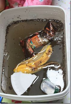 Experiment ~ Can You Undo Water Pollution?    In this experiment the kids learn just how hard it is to undo water pollution.