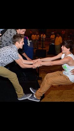 Matt Espinosa and Hayes Grier