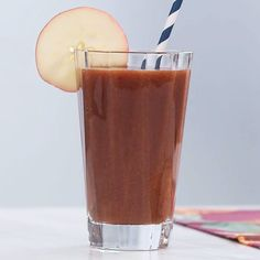 How to make total health booster juice: This recipe packs vitamins A, B, C, E into one delicious juice for an overall health boost. And as an added bonus, the anti-aging benefits in vitamins A and C will help make your hair and skin glow. | Health.com