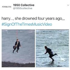 u can't escape the old school memes Styles #signofthetimes #signofthetimesmusicvideo   1950collective.com