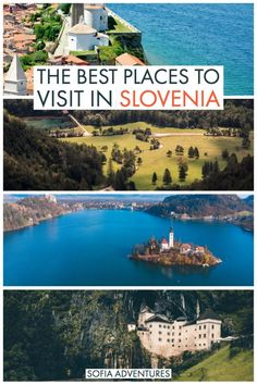 Planning a Slovenia trip and wondering where to go in Slovenia? This guide to the best places to visit in Slovenia will help you plan the perfect Slovenia itinerary. Visit Slovenia, Slovenia Travel, Oh The Places You'll Go, Cool Places To Visit, Europe Travel Tips, Travel Guides, Lake Bled, Amazing Destinations, Travel Destinations