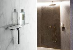 Unidrain reframe badeværelse toilet tilbehør messing bruser