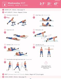Arms, Abs, and Core HIIT Workout | Posted By: NewHowToLoseBellyFat.com