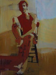 """30"""" x 40"""" oil on canvas. 2012  Mark Horst"""