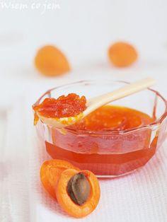 Wiem co jem - Dżem morelowy Marmalade, Sorbet, Preserves, Pantry, Jelly, Yummy Food, Delicious Recipes, Jar, Sweets