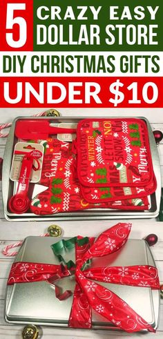 These DIY Christmas Gifts from the Dollar Store are so EASY! The BEST inexpensiv. These DIY Christmas Gifts from the Dollar Store are so EASY! The BEST inexpensive holiday gift ideas from the Dollar Sto. Family Gift Baskets, Diy Gift Baskets, Christmas Gift Baskets, Family Gift Ideas, Christmas Gift Ideas, Diy Christmas Gifts For Coworkers, Christmas Holidays, Best Gift Ideas, Cheap Gifts For Coworkers